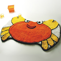 Naomi [Crab] Kids Room Rugs (22 by 32 inches) - $18.99
