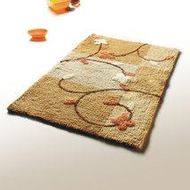 Naomi [Summer Cherry]Luxury Home Rugs (19.7 by 31.5 inches) - $24.99