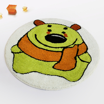 Naomi [Green Bear] Kids Room Rugs (23.6 by 23.6 inches) - $19.99