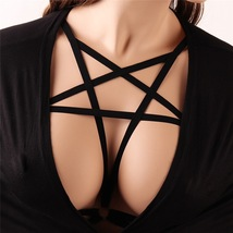 Womens Bra Strappy  Harness Bandage Bra Hollow Out Strappy Bra Crop Top - $10.90