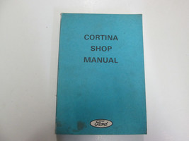 1972 1973 Ford Cortina Service Repair Manual Factory Used Stains Writing Oem - $63.37