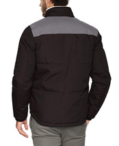 Levi's Men's Mixed Media Puffer Jacket Quilted Shirttail Two Tone Work Wear Coat image 3