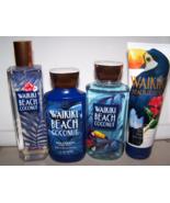 4 Pc Bath & Body Works Waikiki Beach Coconut Set Lotion, Mist, Cream, Sh... - $31.05