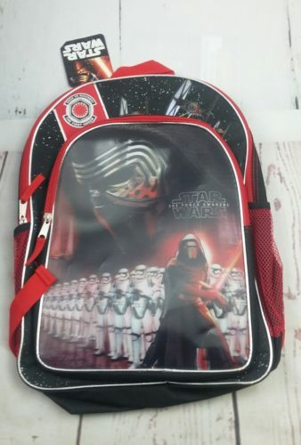 "New Disney 16"" Star Wars: The Force Awakens Kids Backpack"