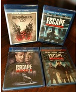 Expendables Trilogy + Escape Plan Trilogy (Blu-ray+DVD+Digital)-NEW-Free S&H - $38.70