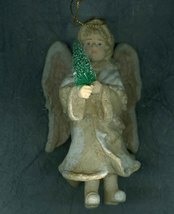 Victorian Look Angel Christmas Ornament - $4.79
