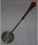 Old Vintage One Hand Wood Handle Kristee Kitchen Whip Whisk - $15.00