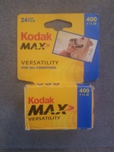 New KODAK Max Versatility 400 Film 24 Exposures 35mm Color Roll Exp 9/04 - $9.31