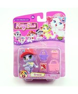 Grace* Kitty Club * 2016 Whatnot Toys Single Figurine & Accessories Pack - $9.85
