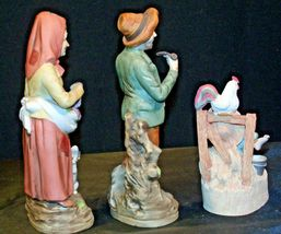 Country Living Figurines - Man, Woman and Child AA-191974 Vintage image 4