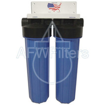 20-inch 2 Stage Big Blue Whole House Filter with Sediment & Catalytic Carbon - $282.35