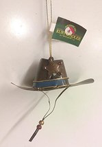 Tin Cowboy Hat Ornament (Brown) - $12.50