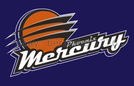Phoenix Mercury WNBA 3'x5' purple Flag Diana Taurasi Brittney Griner USA... - $25.00