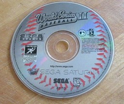 World Series Baseball II (Sega Saturn, 1996) - $4.94