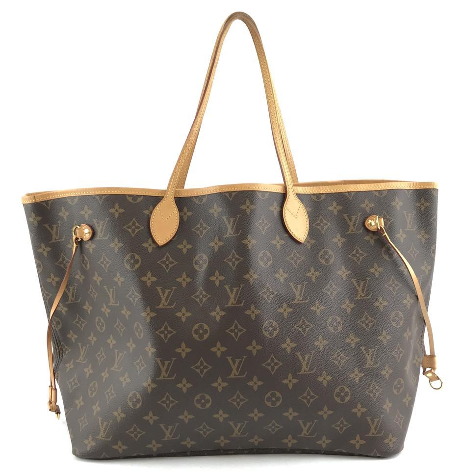 #32322 Louis Vuitton Neverfull Neo Nm Large Gm Tote Work Canvas Shoulder Bag