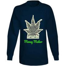 Money Maker 420 Canna Long Sleeve T Shirt image 7