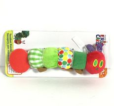 Very Hungry Caterpillar  Eric Carle Infant Baby Teether Rattle Crinkle C1-5 image 4