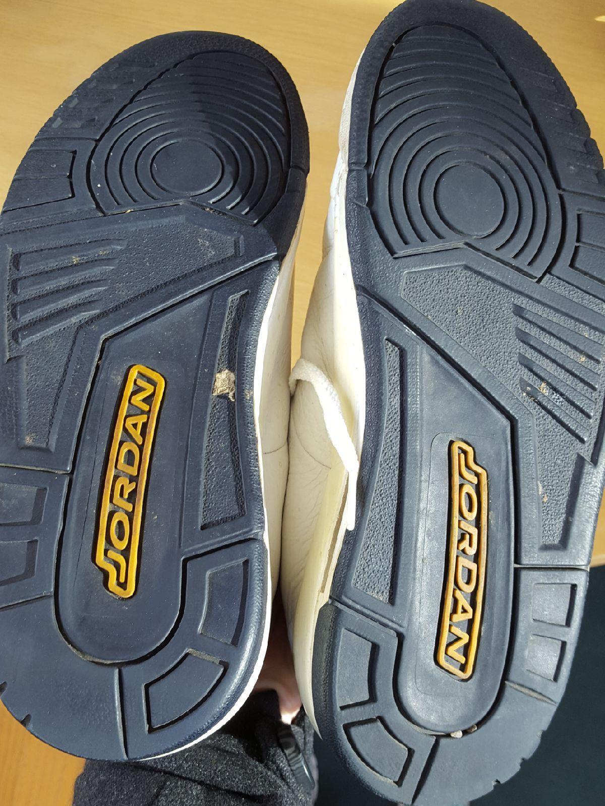 online store e8d6e a54cc 2006 Mens N ke Air Jordan 23 Classic White Leather Shoes Size 8.5 313480-