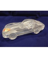 Anna Hutte Bleikristall W Germany Lead Crystal Glass Corvette Paperweight - $21.95