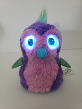"Hatchimals Interactive 5"" Pet Toy Hatched Purple & Pink w/Glitter Spin master - $16.44"