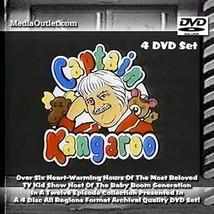 Captain Kangaroo DVD Bob Keeshan TV Kid Show 4 Disc Set All Regions - $46.95