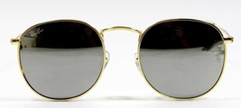 Ray Ban 3447 003/32 Classic John Lennon Silver Blue Sunglasses 50mm New ... - $80.14