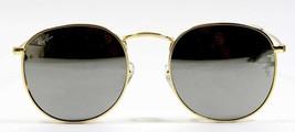 Ray Ban 3447 003/32 Classic John Lennon Silver Blue Sunglasses 50mm New Genuine - $80.14
