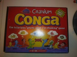 VTG 2003 Cranium Conga Family Board Game Guessing Thinking Night Complete - $7.91