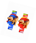 Kids Digital Watch 2 Pieces Girls Boys Creative Dinosaur Style Toy Gift - $17.94
