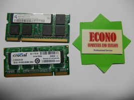 2GB (2X1GB) DDR2 Laptop Memory Ram - $8.91