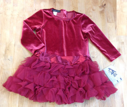 Biscotti Baby-Girls Red Dress, 24 Months - $29.69