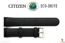 Citizen Eco-Drive AT0908-12F Black Rubber Watch Band Strap AT0980-04B S0... - $61.15