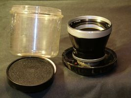 Carl Zeiss Pro-Tessar Lens f=115mm with fitted Zeiss Ikon Case AA-192033 Vintage image 4