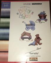 Studio Bernina 145 Bernette/Compatible Baby Oh Baby Debbie Mumm Embroidery - $32.66