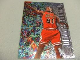 1996-97 Fleer Metal #15 Dennis Rodman -Chicago Bulls- - $3.12