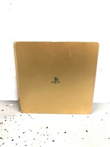 Sony PlayStation 4 GOLD 1TB CUH-2015B Console As Is Parts Or Repair BROKEN - $180.00