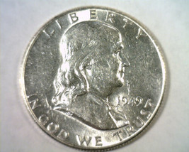 1949 FRANKLIN HALF DOLLAR CHOICE ABOUT UNCIRCULATED+ CH. AU+ NICE ORIGIN... - $29.00