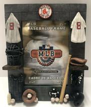 MLB Baseball Boston Red Sox Photo Frame 5x7 W 3D Art Bat Ball Jersey Umpire Shoe - $24.74