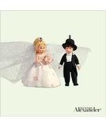 Hallmark Miniature Rosette Dreams Bride and Groom 2005 Ornament - $12.86