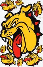 D032 Bulldog dog Sticker Decal Racing Tuning Size 27x18 cm / 10x7 inch - $3.49