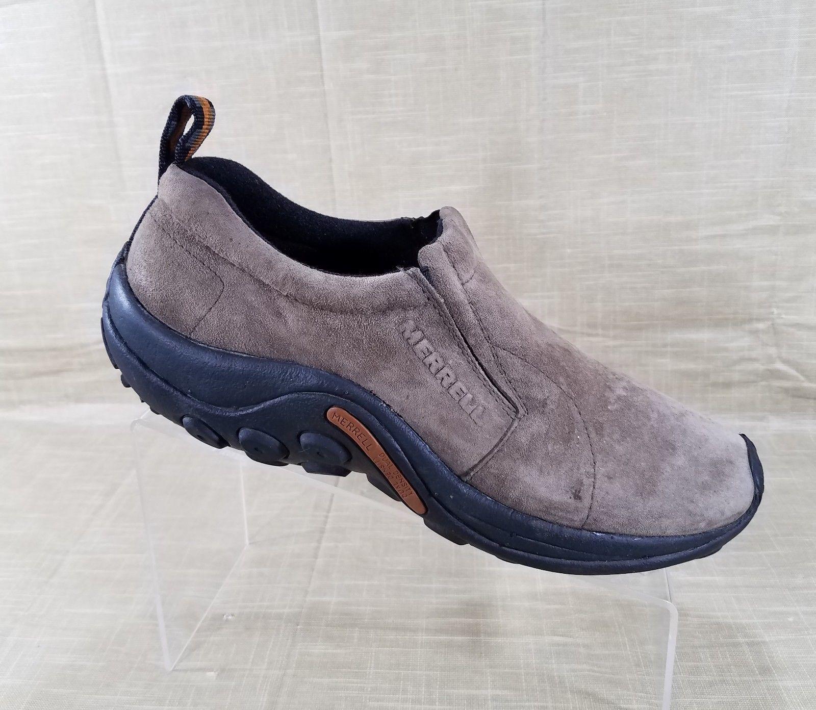 Merrell Jungle Moc Casual Slip On Shoes Womens Size 10 Gunsmoke Brown J60788