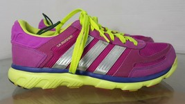 Adidas LA Runner Running Shoes Women's Size 8.5  Vivid Pink, Lime - $24.74