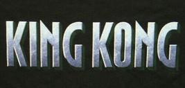 New King Kong Movie Name Logo Promotional T-Shirt Size XL, NEW UNWORN - $11.65