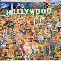 White Mountain Hollywood 1000 Pieces Puzzle NEW - $19.79