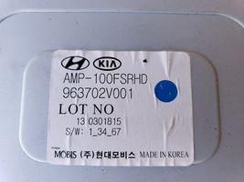 11-14 Hyundai Veloster  Extension Radio Amplifier Amp 96370-2V001 image 5