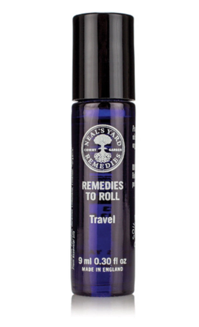 Neal's Yard Remedies Organic remedies to roll TRAVEL  essential oil blend new