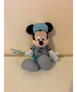Plush Stuffed Animal Disney Mickey Mouse 45th Anniversary Parks - $0.98