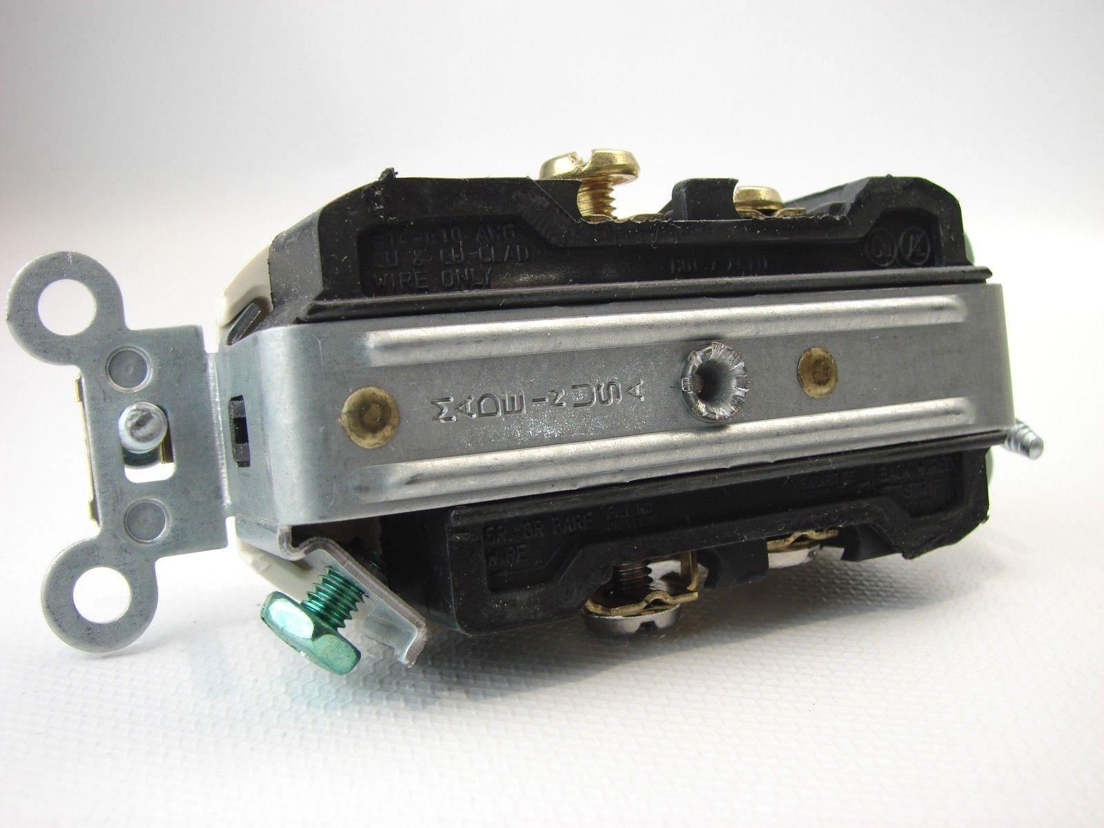 2) Leviton BR20 Duplex Receptacle 20 amps and 49 similar items