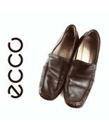 $150 ECCO Brown Leather Driving Loafers Mens Size 45 EU | 11 US | 12113 - $42.75