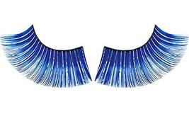 3 Pairs Charming Blue False Eyelashes Party False Eyelashes Art Eyelashes
